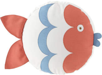 Eastern Accents Celerie Kemble Kissing Fish Tambourine Right Pillow