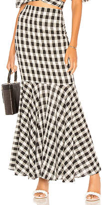The Jetset Diaries Black Pearl Maxi Skirt