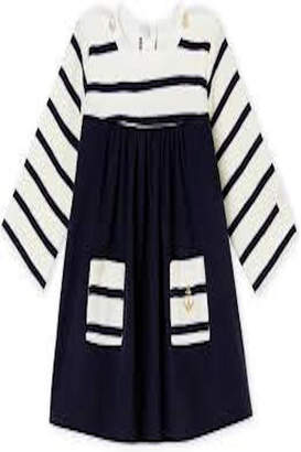 Petit Bateau Dress W/anchor Pocket