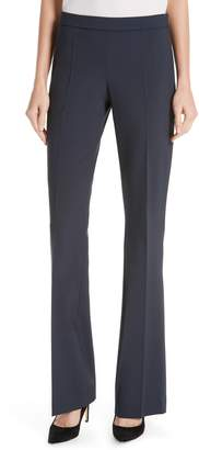 BOSS Tulea Side Zip Tropical Stretch Wool Trousers