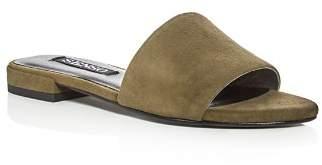 Senso Zulu Suede Slide Sandals