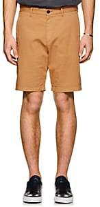Theory Men's Evan Cotton Chino Shorts-Peach