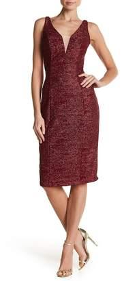 Marina Glitter Midi Dress