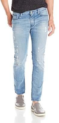 Armani Jeans Men's Slim Fit Vintage Look