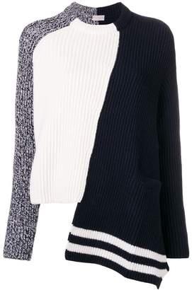 MRZ hybrid knit sweater