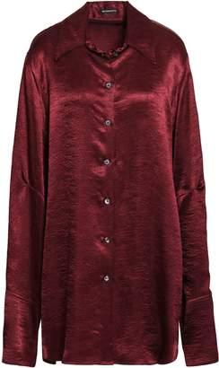 Ann Demeulemeester Crushed-satin Shirt