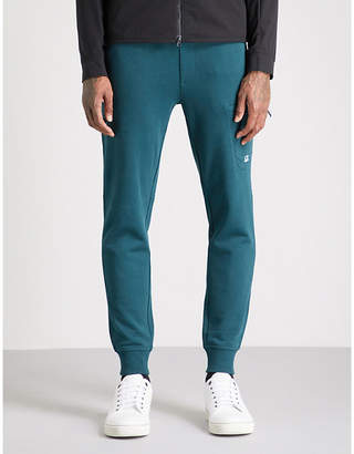 C.P. Company Diagonal cotton-fleece jogging bottoms
