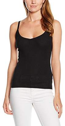 New Look Women's Ribbed Cami Tops