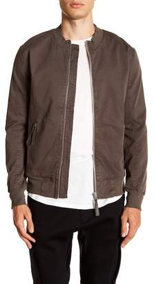 Helmut Lang Textured Twill Bomber Jacket
