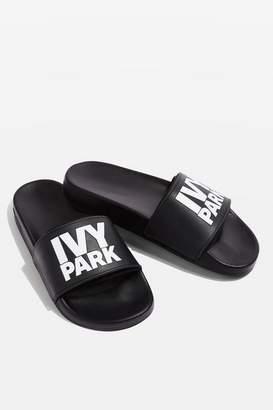 Ivy Park Logo slider shoes