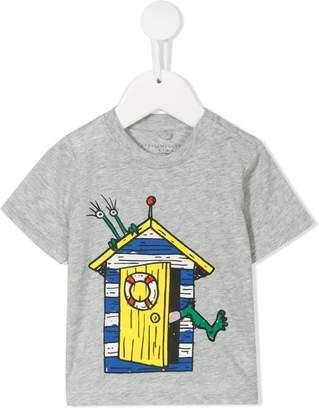 Stella McCartney little house print T-shirt