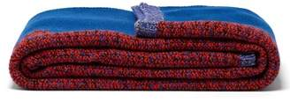 Missoni Zigzag Intarsia Wool Blanket - Womens - Multi
