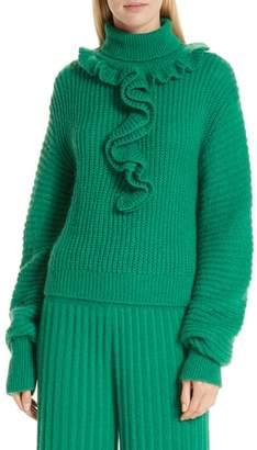 Kenzo Ruffle Neck Sweater