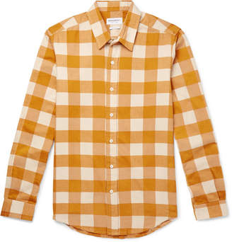 President's Vespa Slim-Fit Checked Cotton-Flannel Shirt