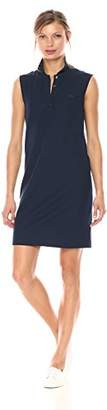 Lacoste Women's Sleeveless Micro Pique Polo Dress