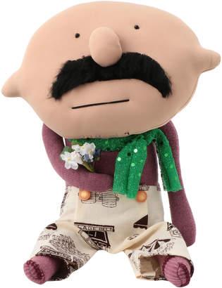 ボビーダズラー おじさん+服+花