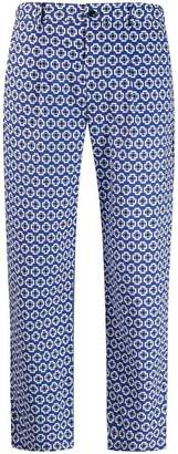 Altea geometric print trousers