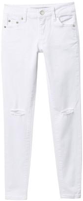 Tractr Slit Knee Jeans (Big Girls)
