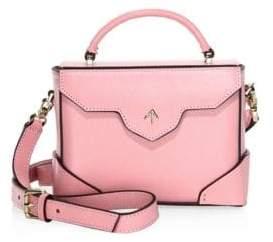 Atelier Manu Micro-Bold Leather Top Handle Bag