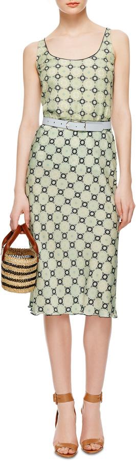 Piamita Virginia Printed Silk-Jersey Skirt