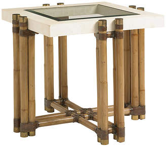 Tommy Bahama Los Cabos Side Table - Warm Umber
