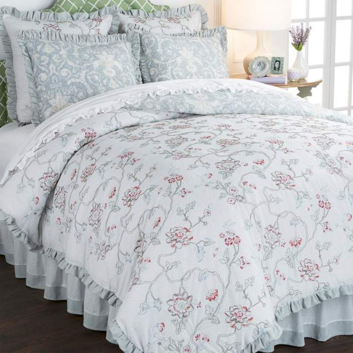 Madcap Cottage Evening in Shalimar 100% Cotton 6-piece Comforter Set