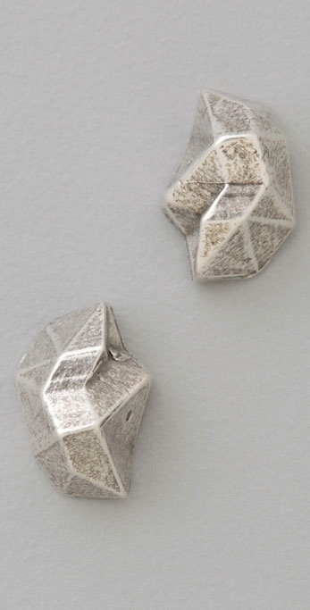 Giles & Brother Pyrite Studs