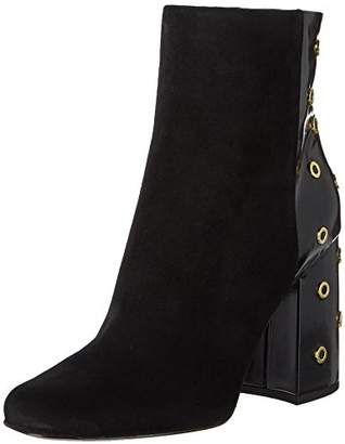 Nine West Women's Justin Suede Ankle Boot,7 Medium US