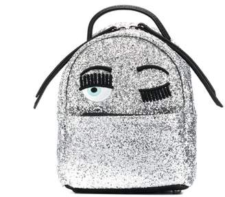 Chiara Ferragni Zaino mini glitter backpack