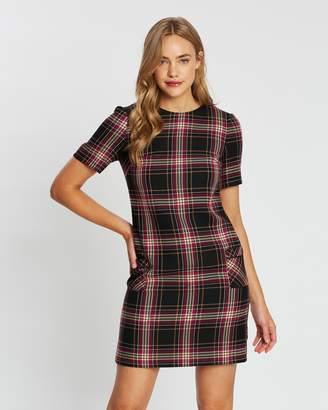 Dorothy Perkins Check Pocket Shift Dress