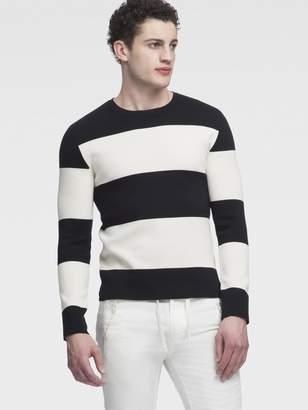 DKNY Striped Milano Sweater