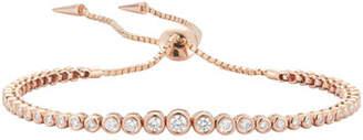 Prive Jemma Wynne Diamond Slider Bracelet in 18K Rose Gold