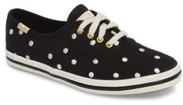 Keds R) x kate spade new york champion polka dot lace-up shoe