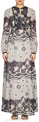 Warm Women's Chelsea Floral Voile Maxi Dress