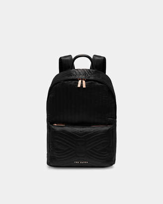 e22453dc3c Ted Baker AKIJA Quilted bow nylon backpack