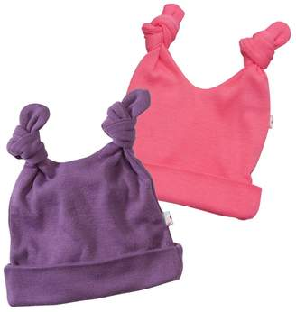 Baby Soy Basic Double Knot Hat Pack of 2 (6-12 Months, )