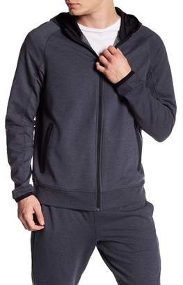 Zella Z By Active Fleece Full Zip Hoodie