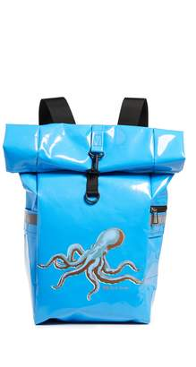 Paul Smith Roll Top Octopus Backpack