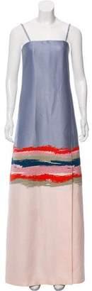 Tory Burch Patterned Maxi Dress