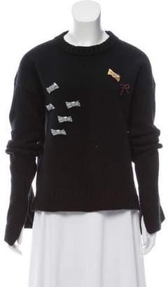 J.W.Anderson Merino Wool Sweater Top