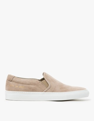 Slip-On in Suede Smoke $416 thestylecure.com