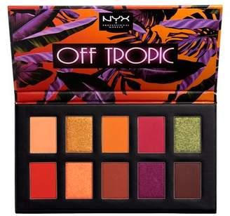 NYX Off Tropic Eyeshadow Palette - 0.46oz