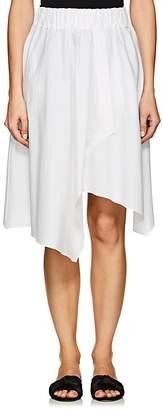 Minnoji Women's Nina Asymmetric Poplin Skirt