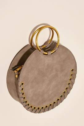 Anthropologie Shelly Round Whipstiched Bag