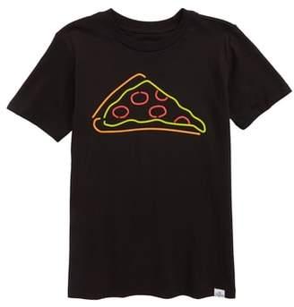 Kid Dangerous Neon Pizza T-Shirt
