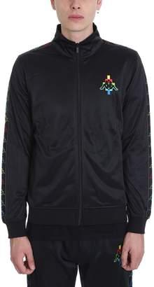 Marcelo Burlon County of Milan Black Cotton Track Jacket