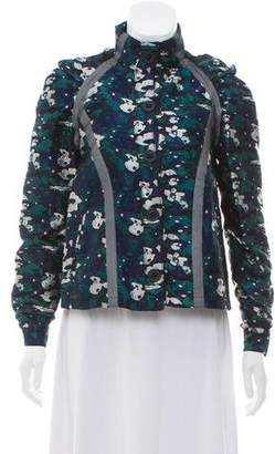 Opening Ceremony Floral Embroidered Jacket