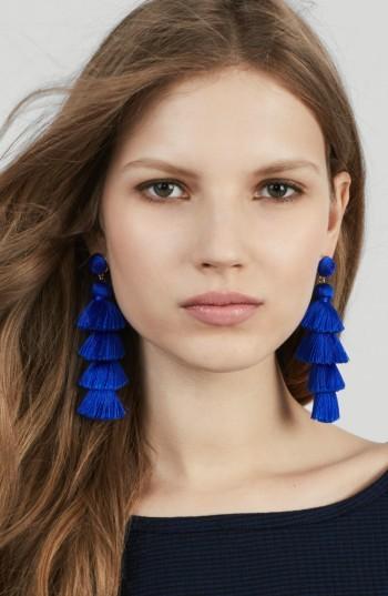 Women's Baublebar Antonella Tassel Fringe Earrings 3