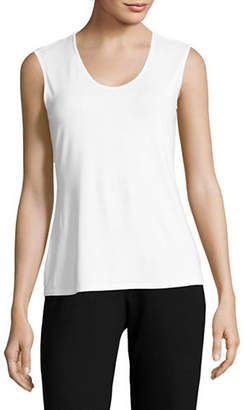 Eileen Fisher Scoop Neck Sleeveless Top