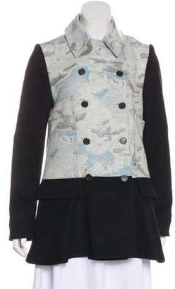 Kenzo Double-Breasted Wool Coat
